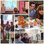 MYC Anniversary Event Collage. Photo: Maija Aksela
