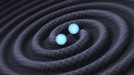 Gravitational Waves, Photo: Caltech/MIT/LIGO Laboratory