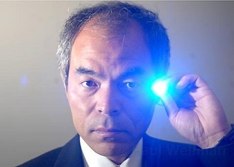 Shuji Nakamura and blue LEDs. Photo: Ladislav Markuš